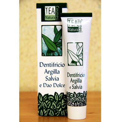 DENTIFRICIO ARGILLA E SALVIA TEA